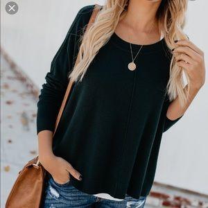 VICI Black Cashmere Sweater